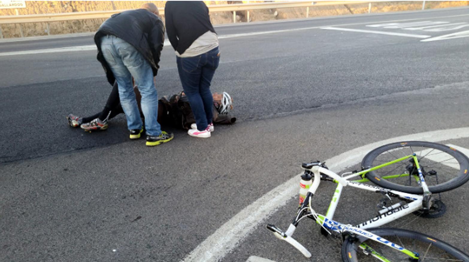 atropello ciclista turre almeria