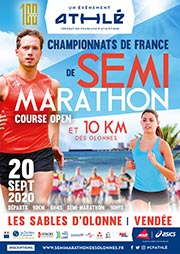 CARTEL SEMI ATLETISMO FRANCIA