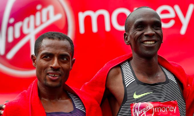 london marathon kipchoge bekele 3 octubre