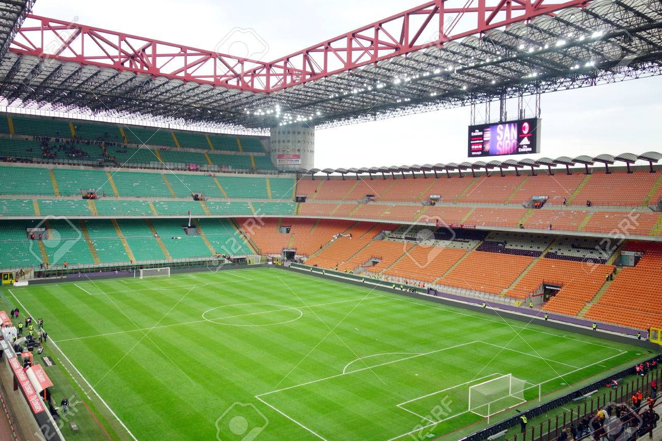 estadio milan vacio