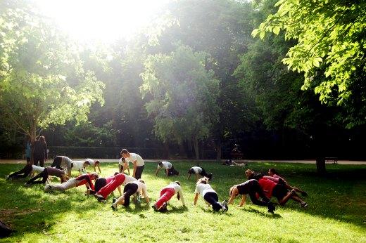 deporte en madrid parque