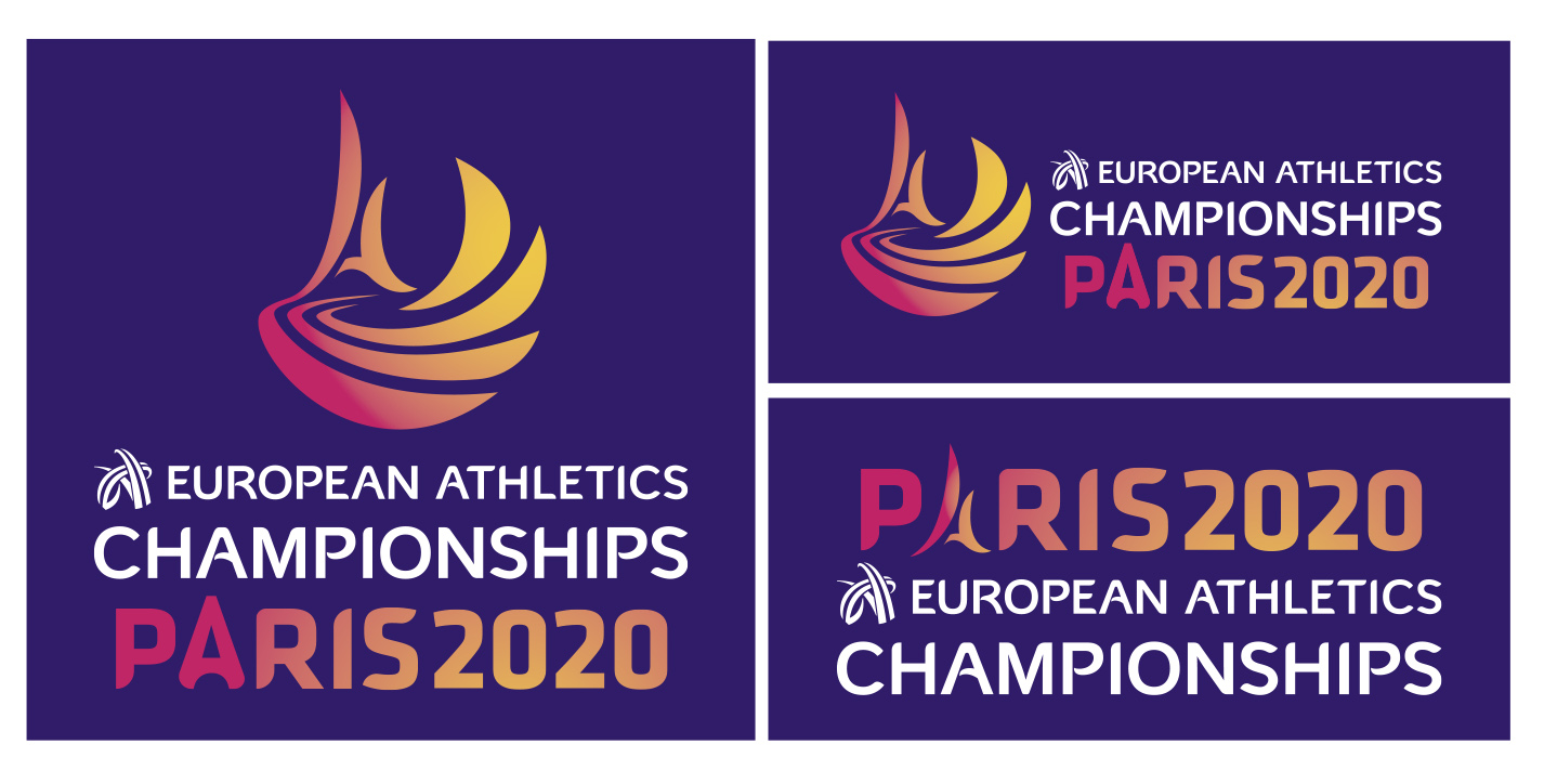 LOGOS EUROPEO ATLETISMO PARIS 2020