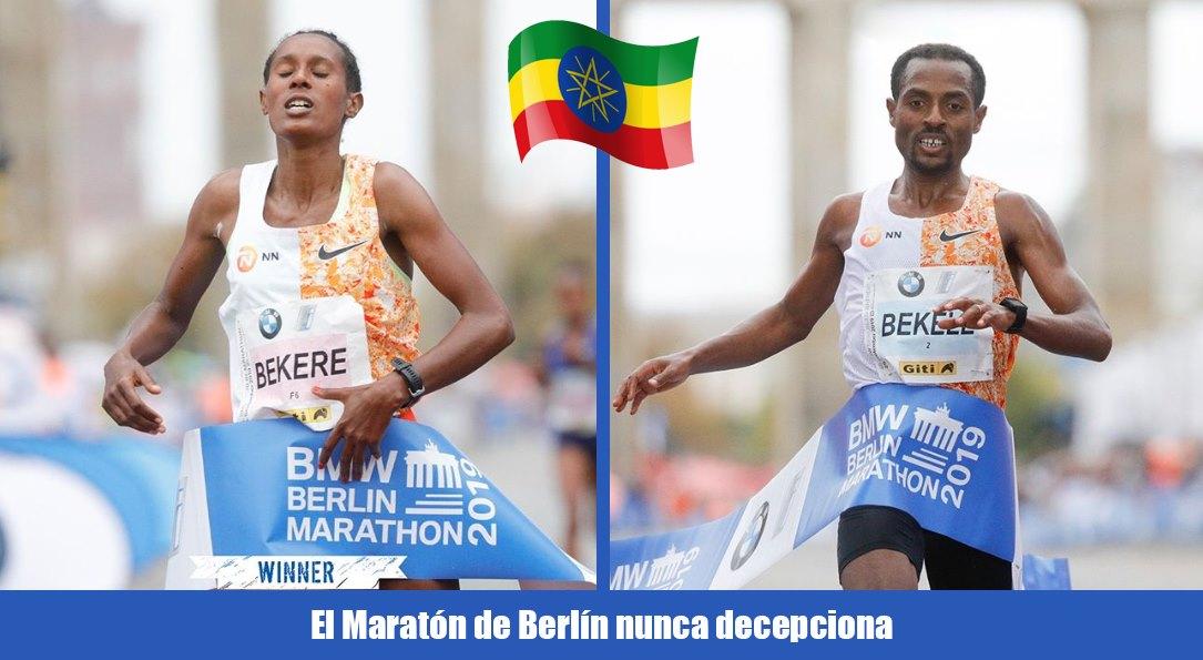bekele gana maraton berlin 2019