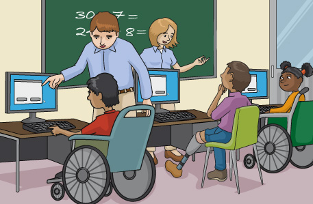 centro de discapacidad
