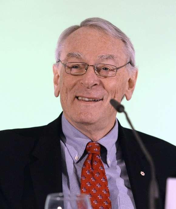Richard Pound, uno de los impulsores de la lucha contra el dopaje. Efe