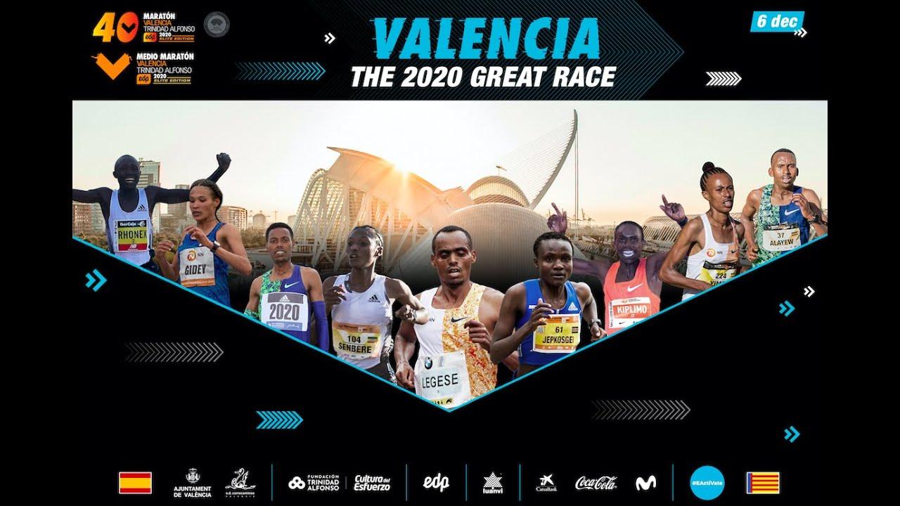 elenco atletas elite edicion maraton valencia