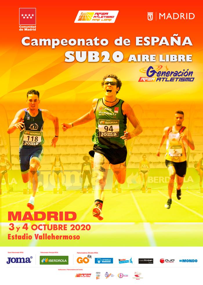 CARTEL CTO ESPAÑA SUB20 SEPTIEMBRE MADRID