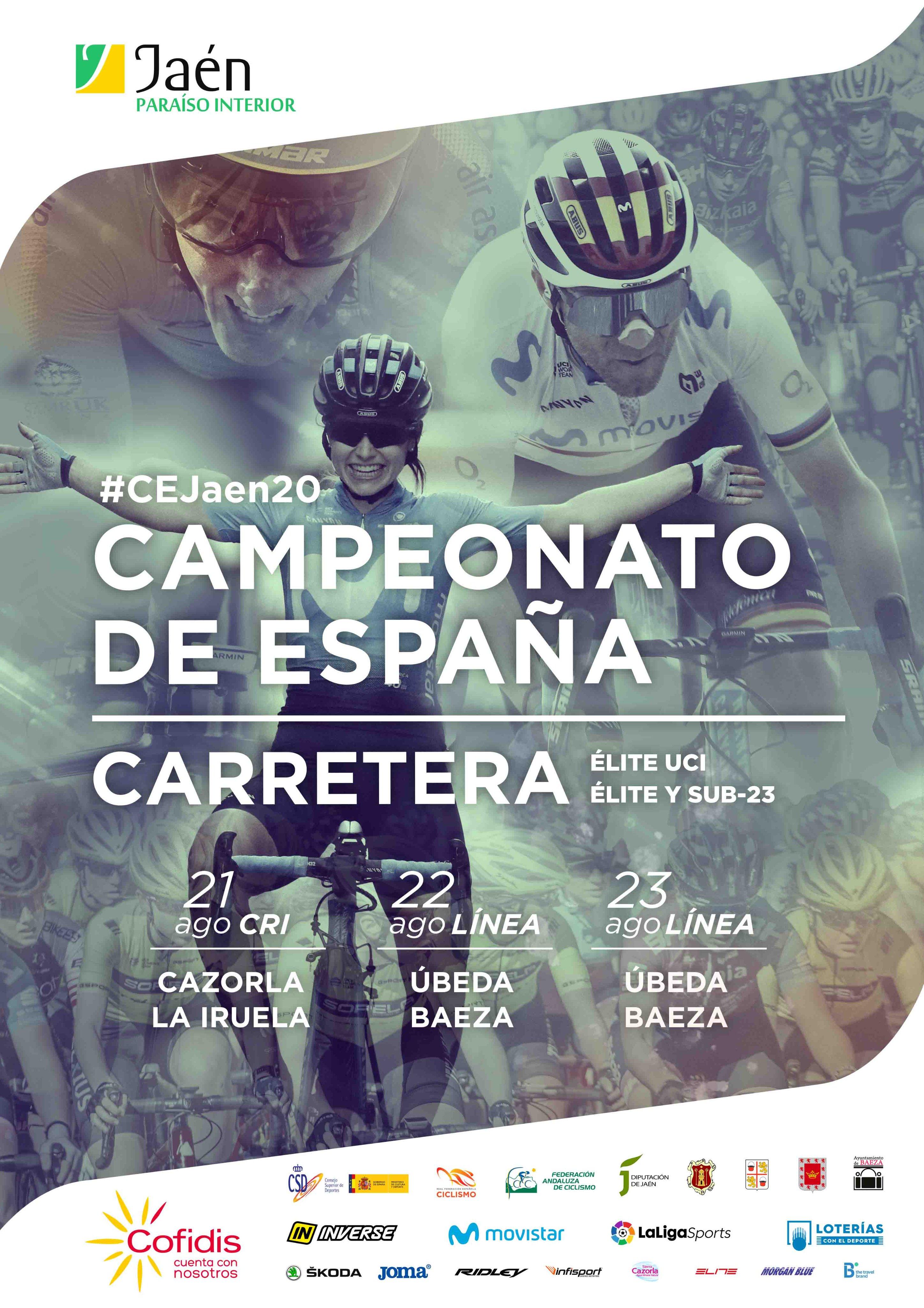 cartel cto españa ciclismo ruta