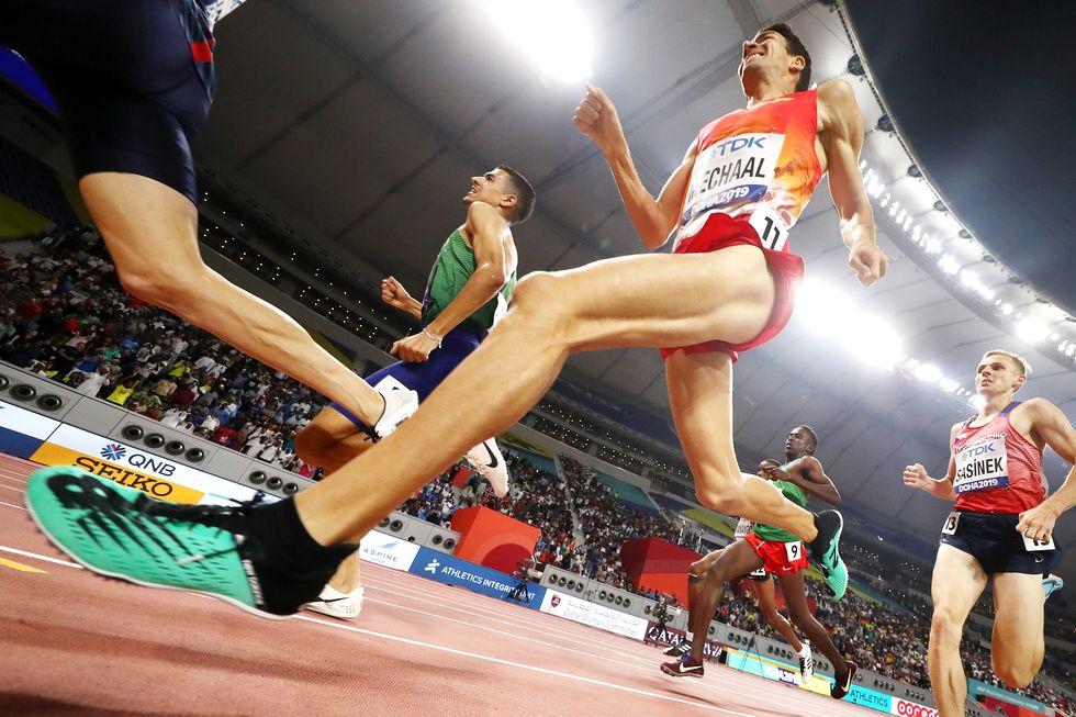adel mechaal doha world championship atletismo