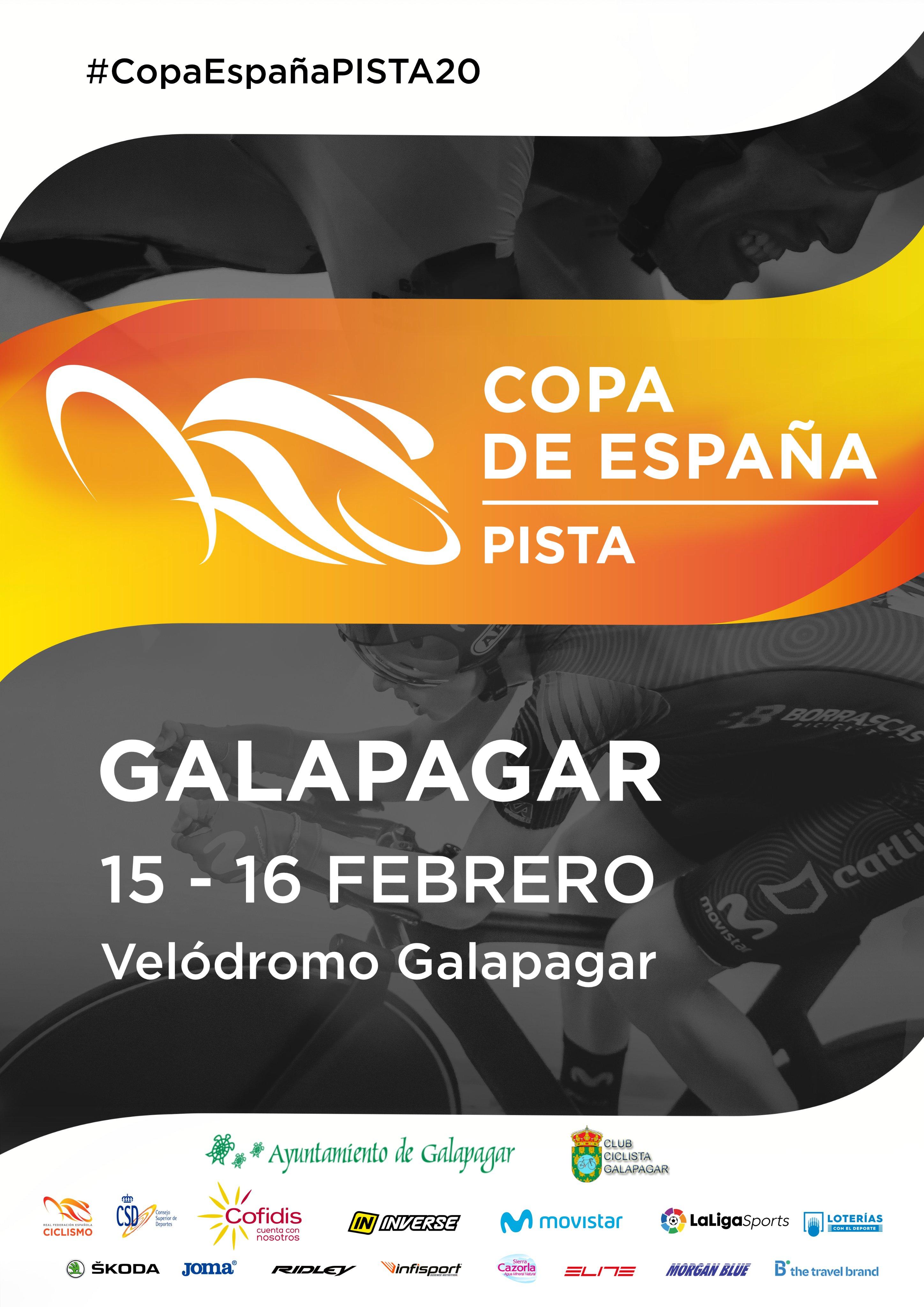 cartel velodromo cto españa pista ciclismo