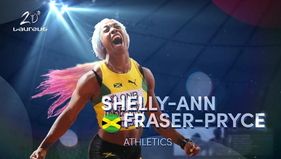 shellyt ann fraser pryce lider mundial 100 metros