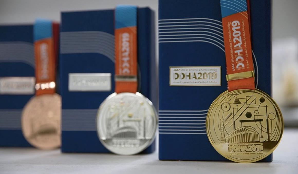 medallas doha 2019 world athletics