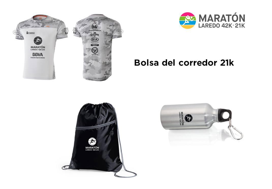 bolsa corredor maraton laredo 2019