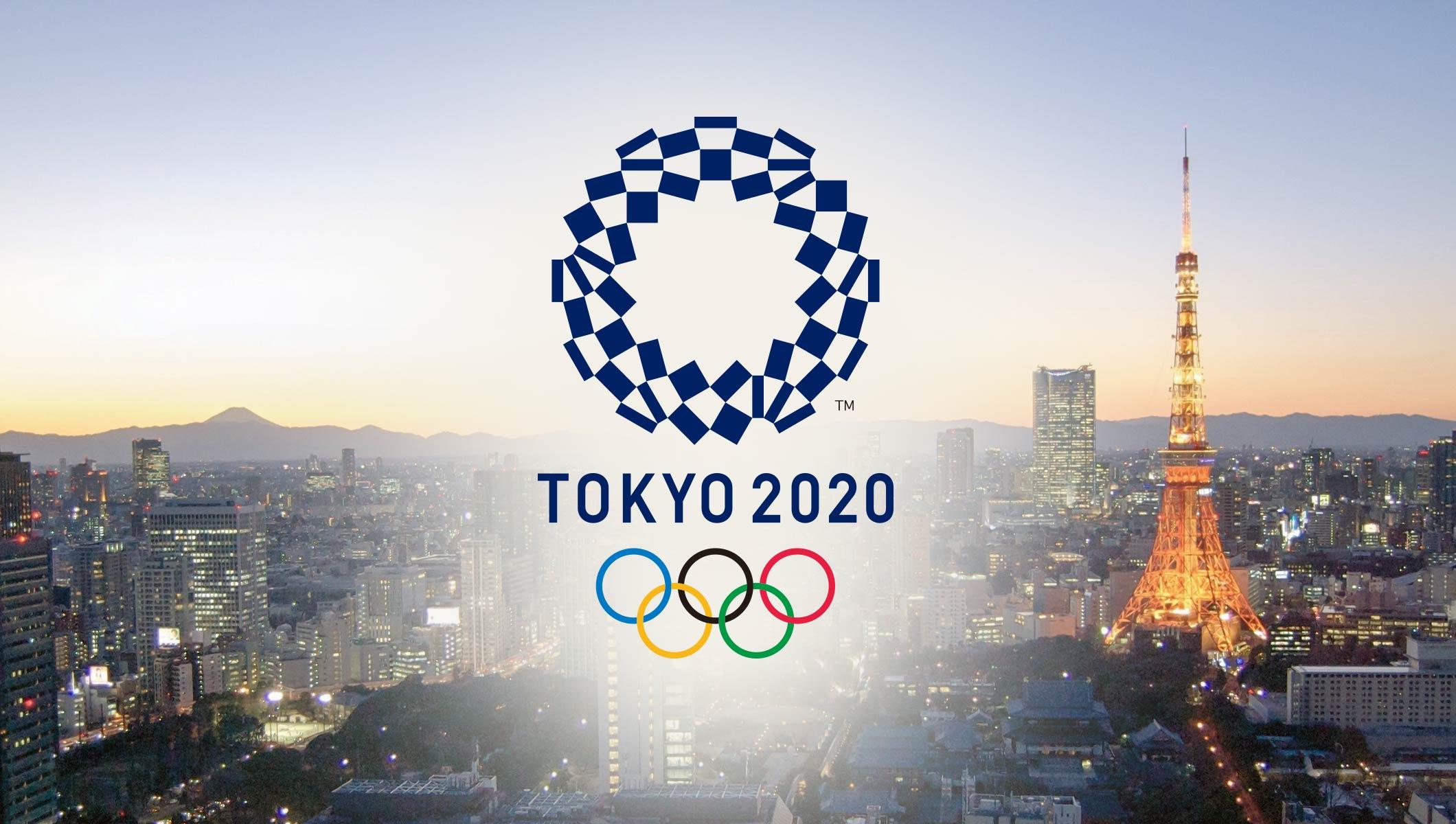 TOKIO 2020 LOGO AT