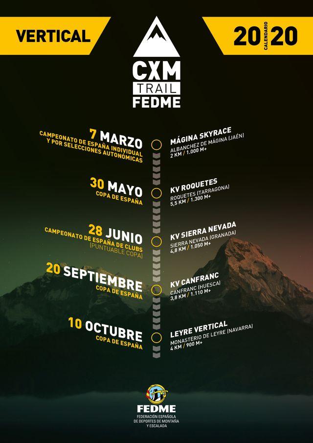 carreras por montaña calendario kilometro vertical