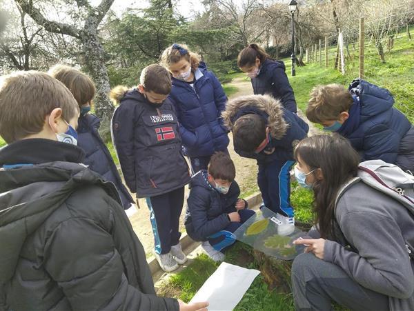 Salida con el Arboreto Luis Ceballos