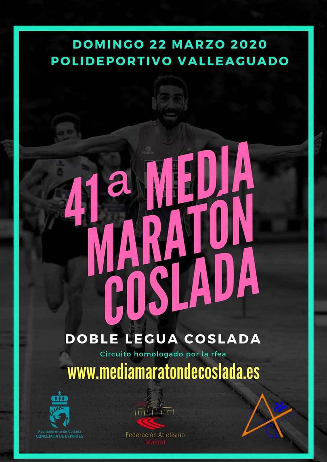 41ª Media Maratón de Coslada