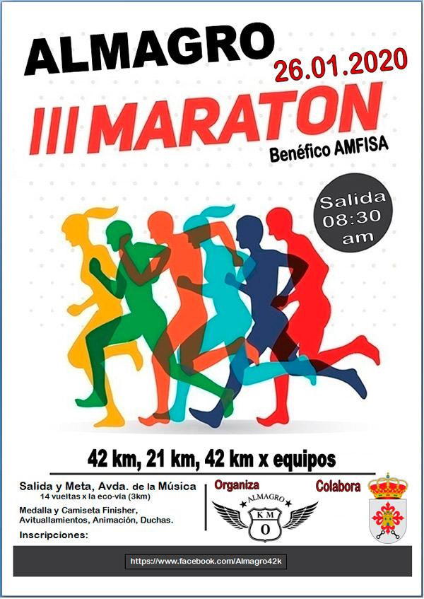 III Maratón Benéfico de Almagro